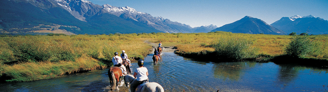 imgHorse riding - North and South Island tours