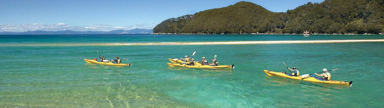 imgKayaking - South Island tour