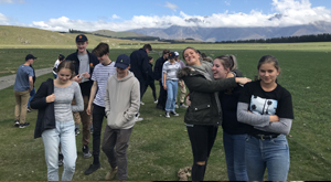 South Island sample geography tour for New Zealand students