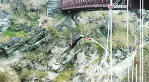 Can't visit the south island without bungy jumping!